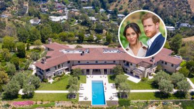 ہیری اور میگھن نے ہالی وڈ اداکار ٹائلر پیری کے محل نما گھر میں رہائش اختیار کرلی