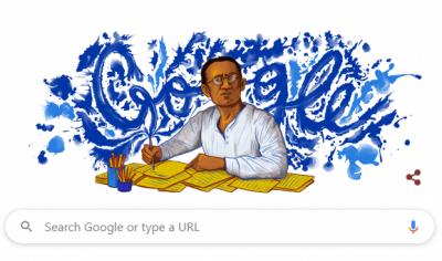 گوگل کا ڈوڈل عظیم افسانہ نگار سعادت حسن منٹو کے نام