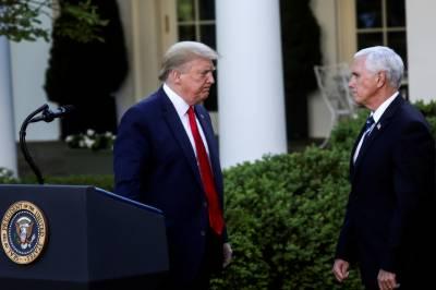امریکی نائب صدر نے ڈونلڈ ٹرمپ سے دوری اختیار کر لی