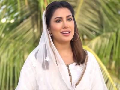 اداکارہ مہوش حیات کی آواز میں ریکارڈ کی گئی نعت ﷺ ریلیز کر دی گئی