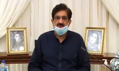 سندھ میں کورونا کیسز کی تعداد 14 ہزار 99 ہوگئی: وزیر اعلیٰ