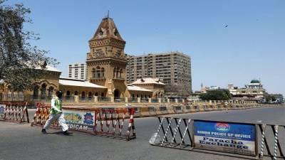 کراچی سمیت سندھ بھر میں سخت لاک ڈاؤن پر عملدرآمد شروع
