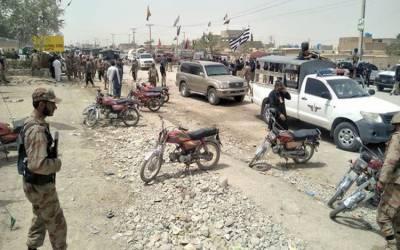 بلوچستان : 2مختلف واقعات میں7 جوان شہید، آئی ایس پی آر
