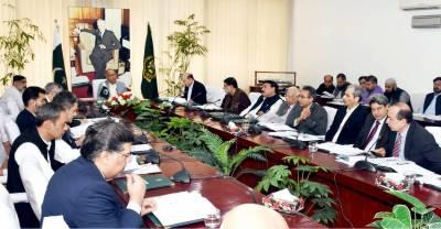عبدالحفیظ شیخ کی زیر صدارت کابینہ کی اقتصادی رابطہ کمیٹی کا اجلاس جاری