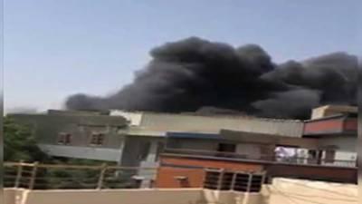 کراچی ائیر پورٹ کے قریب لاہور سے آنے والا پی آئی اے کا طیارہ گرکرتباہ