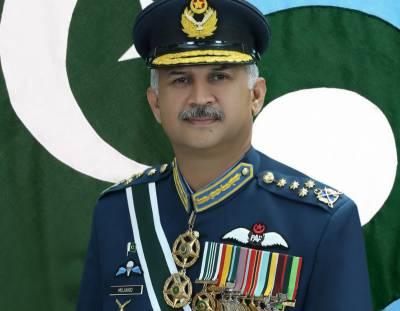 پاک فضائیہ کے سربراہ ایئر چیف مارشل مجاہد انور خان کا طیارہ حادثے میں قیمتی جانی نقصان پر گہرے رنج و افسوس کا اظہار