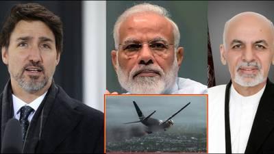 طیارہ حادثہ: افغان صدر، بھارتی اور کینیڈین وزرائے اعظم سمیت دیگر ممالک کا اظہار افسوس