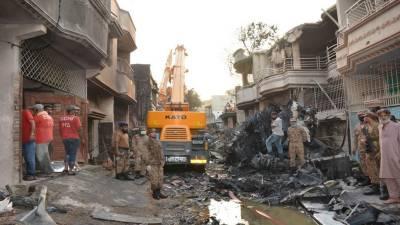 پی آئی اے طیارہ حادثہ: پاک فوج سمیت دیگر اداروں کا ریلیف آپریشن جاری