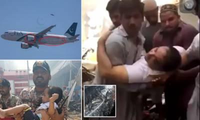 پی آئی اے طیارہ حادثہ، جاں بحق ہونے والے کریو کے اہلخانہ کو آج کراچی پہنچایا جائے گا