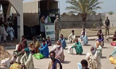 پاک بحریہ کی ملک کے مختلف علاقوں میں امدادی سرگرمیاں جاری