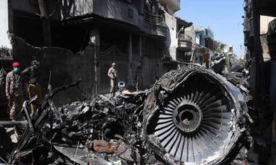 کراچی: طیارے کا ملبہ ہٹانے کا کام جاری، فرانسیسی ٹیم آج تحقیقاتی عمل مکمل کرے گی