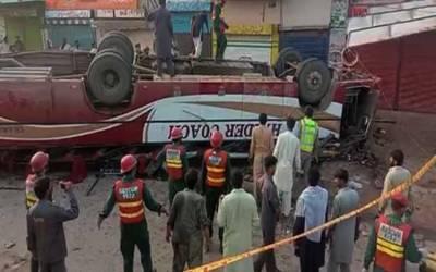 خانیوال، کالا شاہ کاکو اور نوشکی میں ٹریفک حادثات، 19 مسافر جاں بحق