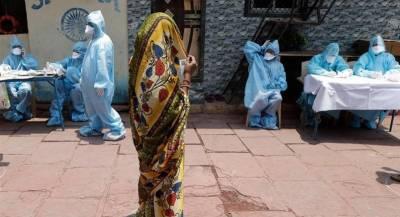 بھارت میں کورونا وائرس کے مریضوں کی تعداد میں اضافہ، متاثرین کی تعداد ایک لاکھ 90 ہزار ہوگئی