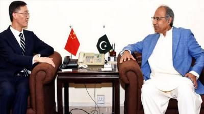 پاکستان اورچین کامعیشت کےمختلف شعبوں میں باہمی تعاون اوراشتراک عمل بڑھانےپراتفاق