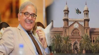لاہور ہائیکورٹ نے شہباز شریف کی عبوری ضمانت منظورکرلی