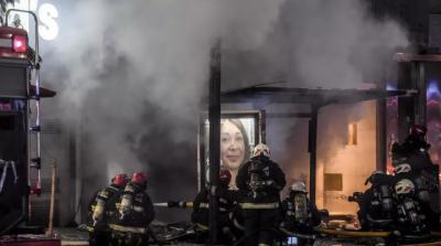 ارجنٹائن کے دارالحکومت میں پرفیوم شاپ دھماکے سے آگ بجھانے والے دواہلکار ہلا ک ہوگئے