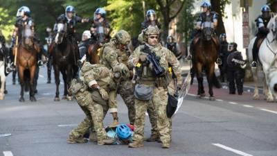 پینٹاگون نے مظاہروں سے نمٹنے کیلئے مزید فوجی واشنگٹن بھیج دئیے