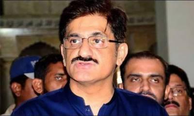وزیراعلیٰ سندھ مراد علی شاہ نیب میں پیش