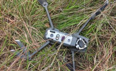 پاک فوج نے بھارت کا ایک اور جاسوس ڈرون مار گرایا. آئی ایس پی آر