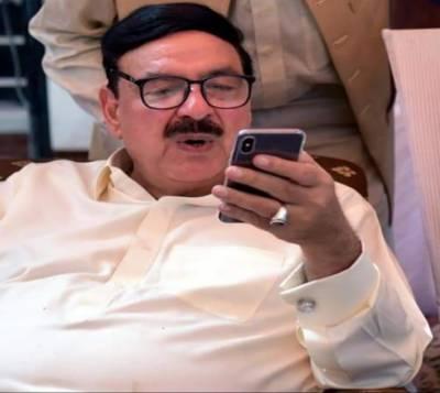 وزیرریلوے شیخ رشید کا کورونا ٹیسٹ مثبت آگیا