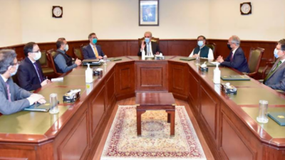 شاہ محمود قریشی سے نامزد نئے سفراء کی ملاقات، بطور سفیر نامزدگی پر مبارکباد