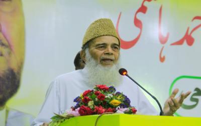 سابق امیر جماعت اسلامی پاکستان سید منور حسن انتقال کر گئے
