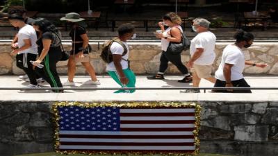 کورونا کی نئی لہر: امریکہ میں24 گھنٹوں میں 35 ہزار سے زائد کیسز
