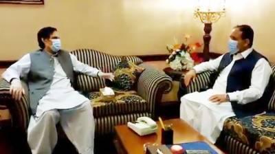 وزیراعلیٰ پنجاب اور سپیکر پنجاب اسمبلی کا باہمی دلچسپی کے امور پر تبادلہ خیال