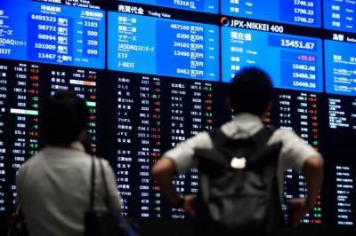 ٹوکیو سٹاک مارکیٹ میں مندی کا رجحان