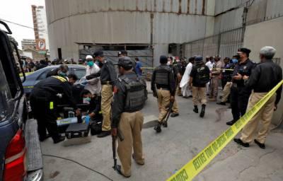 پاکستان اسٹاک ایکسچینج پر حملے کا مقدمہ درج