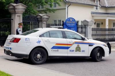 کینیڈین وزیراعظم کی رہائش گاہ کے قریب سے ایک مسلح شخص گرفتار