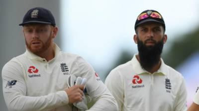 جونی بیئرسٹو اور معین ویسٹ انڈیز کے خلاف ابتدائی ٹیسٹ کے لئے انگلینڈ ٹیم سے باہر