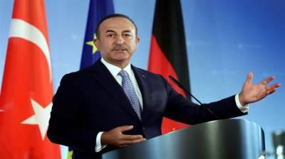 اگریورپی یونین نے مزید پابندیاں عائد کیں توترکی جوابی کارروائی کرے گا:ترک وزیر خارجہ