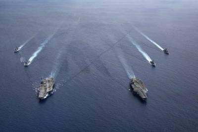 بحیرہ جنوبی چین میں مشترکہ امریکی فوجی مشقوں پر چین کا اعتراض