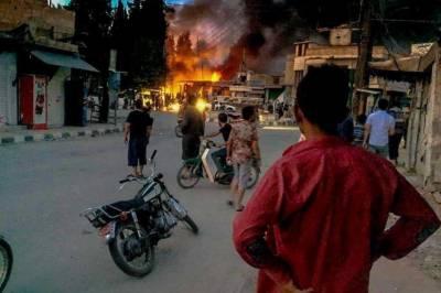 شام میں کار بم دھماکہ 3 افراد جاں بحق ،8 زخمی
