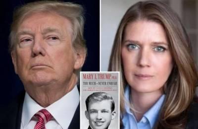 ٹرمپ کی بھتیجی کی کتاب میں امریکی صدر سے متعلق سنگین انکشافات
