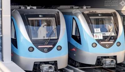 500 ارب روپے کی لاگت سے تیار دبئی میٹرو 2020 کا افتتاح