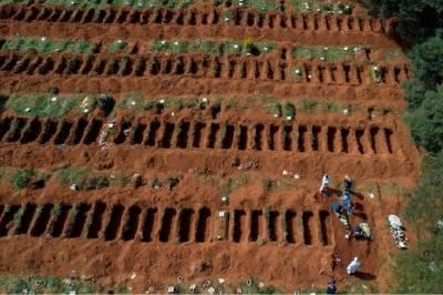 جنوبی افریقہ میں کروناوائرس سے ہلاکتوں کا خدشہ،پانچ لاکھ قبریں کھود دی گئیں