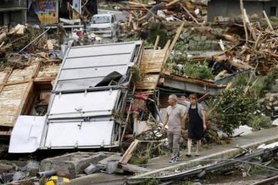 جاپان میں موسلا دھار بارشوں سے وسیع پیمانے پر نقصانات