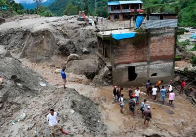 نیپال میں بارشوں اور مٹی کے تودے گرنے سے 10 افراد ہلاک