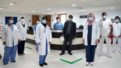 ابوظبی کے تمام نجی اسپتال کورونا فری قرار