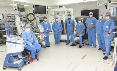 سعودی ہسپتال روبوٹ سرجری والے عالمی مراکز میں شامل