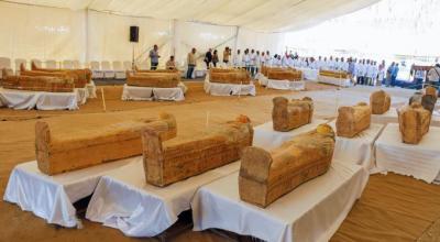 مصر، فرعونوں کے درجنوں تابوت دریافت