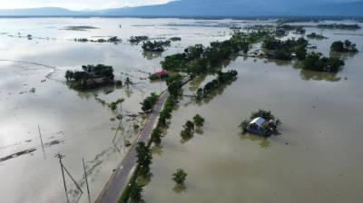 بنگلہ دیش کا ایک تہائی حصہ مون سون بارشوں کے بعد زیر آب آگیا