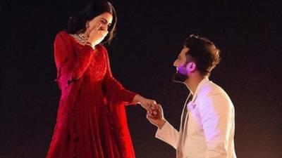 سارہ خان نے منگنی کر لی