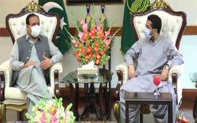 وزیراعلیٰ پنجاب سے بلوچستان کے وزیر داخلہ کی ملاقات، باہمی دلچسپی کے امور پر تبادلہ خیال