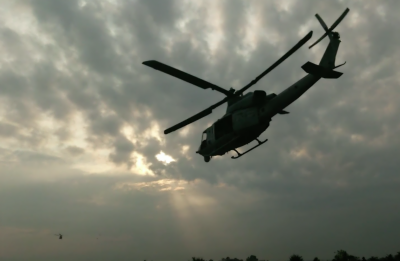 فلپائن کا فوجی ہیلی کاپٹر تربیتی پرواز کے دوران گر تباہ، 4 ہلاک