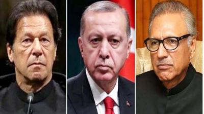 ترک صدراردوان کا وزیراعظم اورصدر مملکت کوٹیلی فون ، عید کی مبارکباد