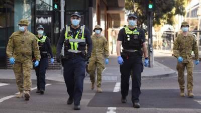 آسٹریلیا، میلبورن میں کورونا وائرس پر قابو پانے کے لیے کرفیو کا نافذ