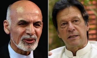 افغان صدر اشرف غنی کا وزیراعظم عمران خان کو ٹیلی فون ، عیدالاضحی کی مبارکباد دی